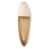 Dámske kožené baleríny bata, ružová, 528-5630 - 26
