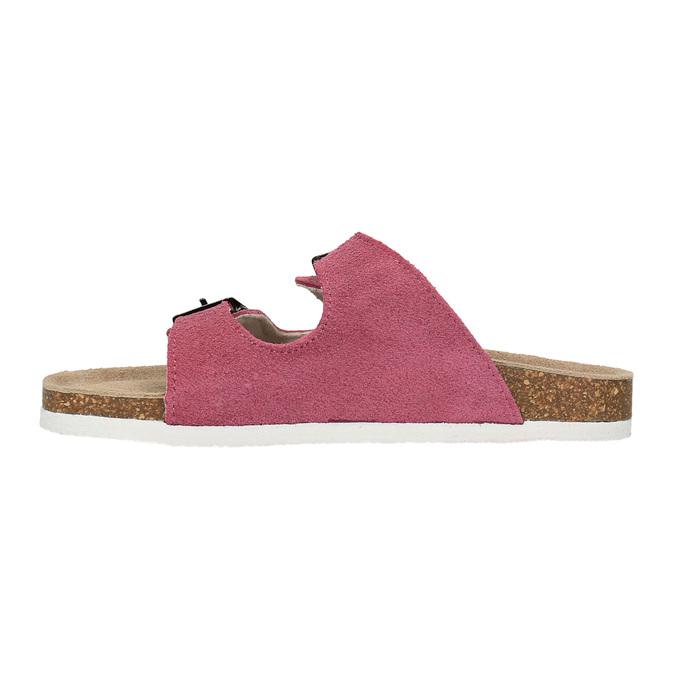 Detské ružové papuče de-fonseca, ružová, 373-5600 - 26