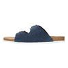 Kožená domáca obuv pánska de-fonseca, modrá, 873-9610 - 26