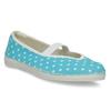 Modré cvičky s bodkami bata, modrá, 379-9103 - 13
