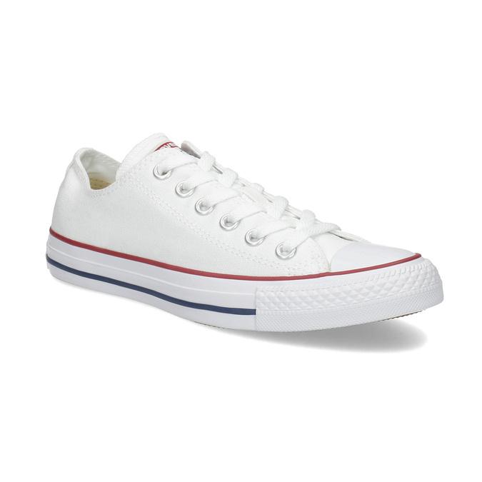 Dámske biele tenisky s gumovou špičkou converse, biela, 589-1279 - 13