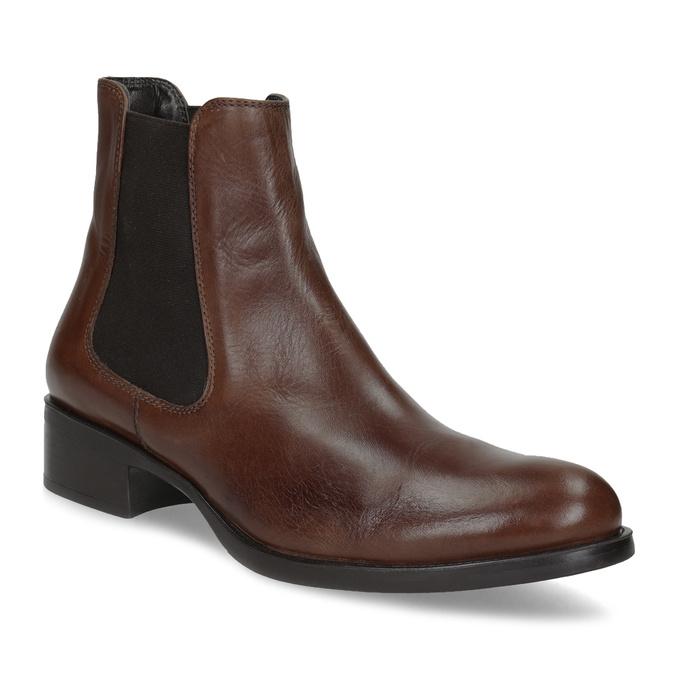 Kožená Chelsea obuv bata, hnedá, 594-4448 - 13
