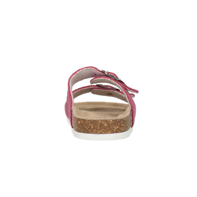 Detské ružové papuče de-fonseca, ružová, 373-5600 - 17