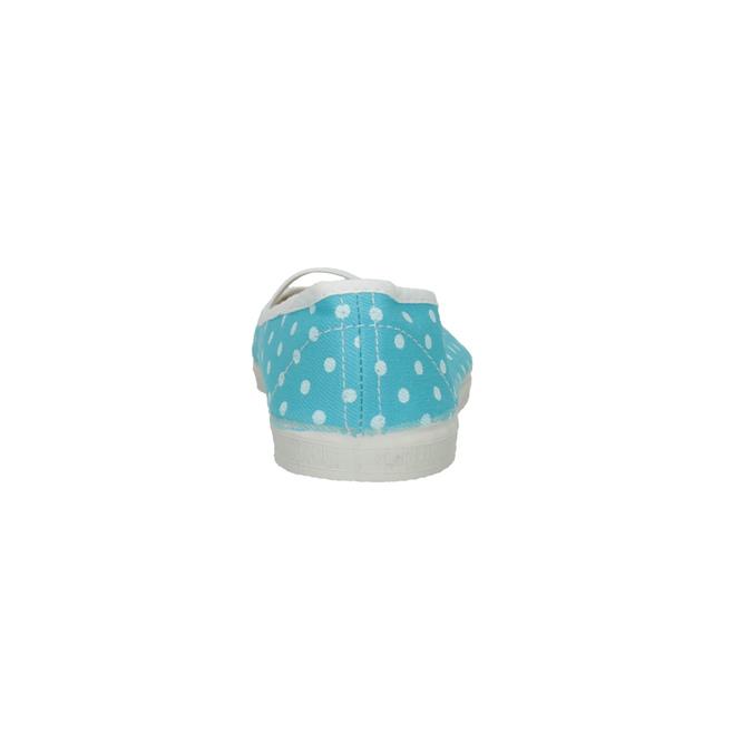 Modré cvičky s bodkami bata, modrá, 379-9103 - 17