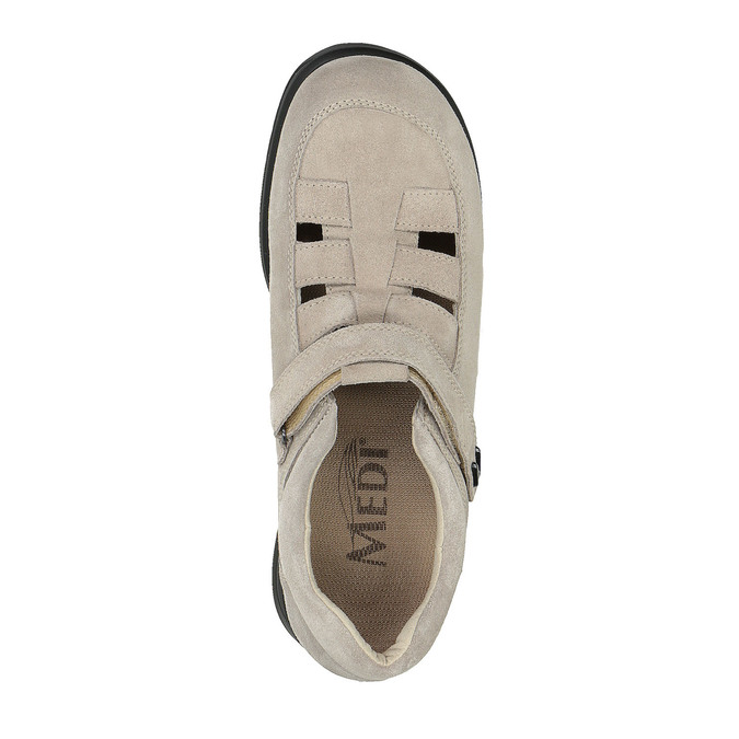 Dámska obuv medi, béžová, 553-8205 - 19