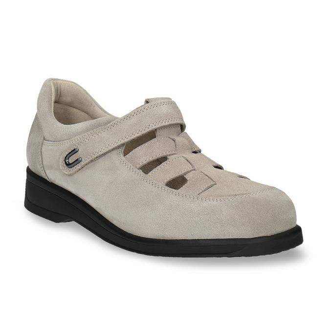 Dámska obuv medi, béžová, 553-8205 - 13