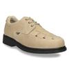 Pánská kožená zdravotní obuv medi, béžová, 854-8205 - 13