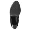 Dámska členková obuv s prackou bata, čierna, 699-6630 - 19