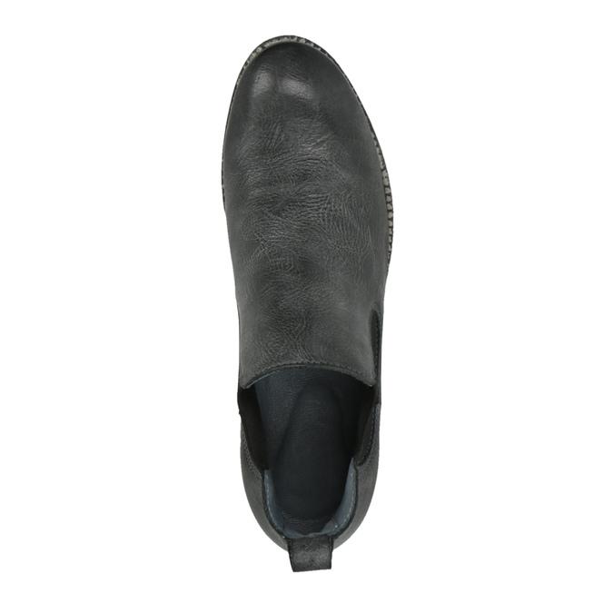 Kožené Chelsea Boots bata, čierna, 596-6641 - 19