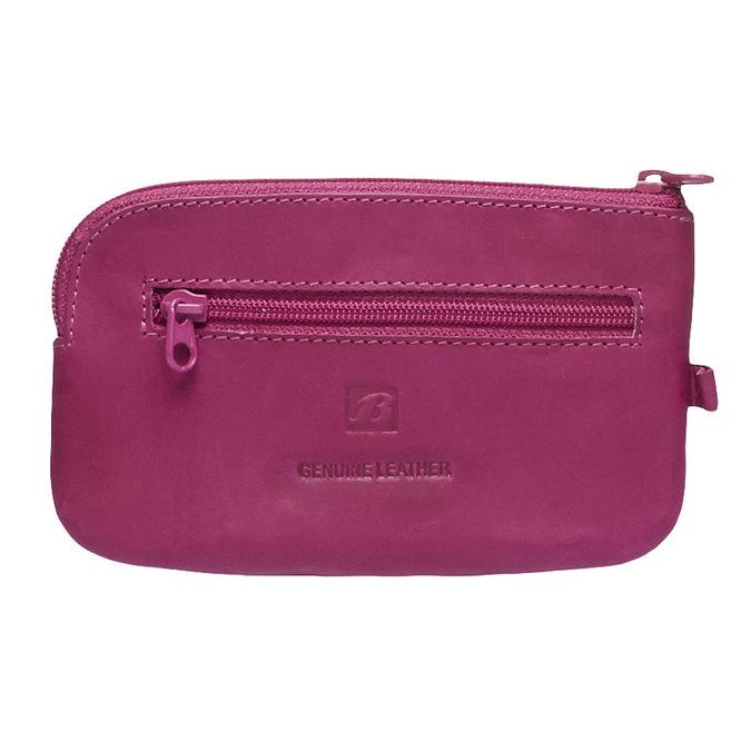 Kožená peňaženka bata, ružová, 944-5161 - 26