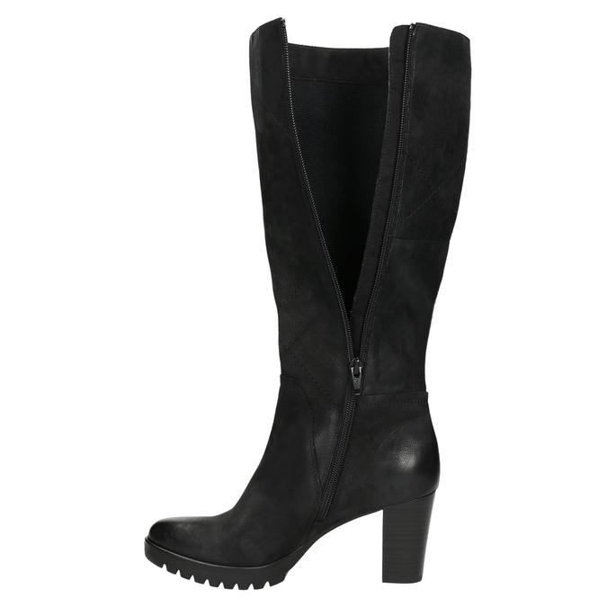 Dámske čižmy bata, čierna, 796-6601 - 26