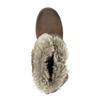 Dámska členková obuv s kožúškom bata, hnedá, 591-4601 - 19