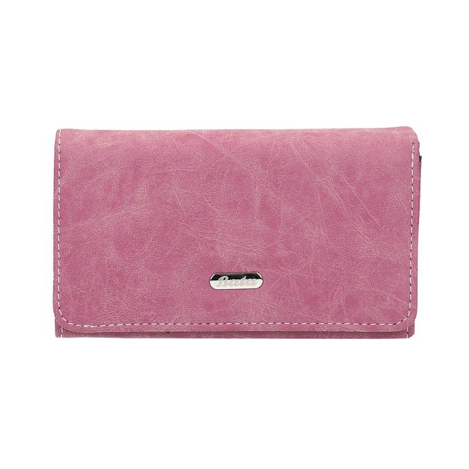 Štýlová dámska peňaženka bata, ružová, 941-5153 - 26