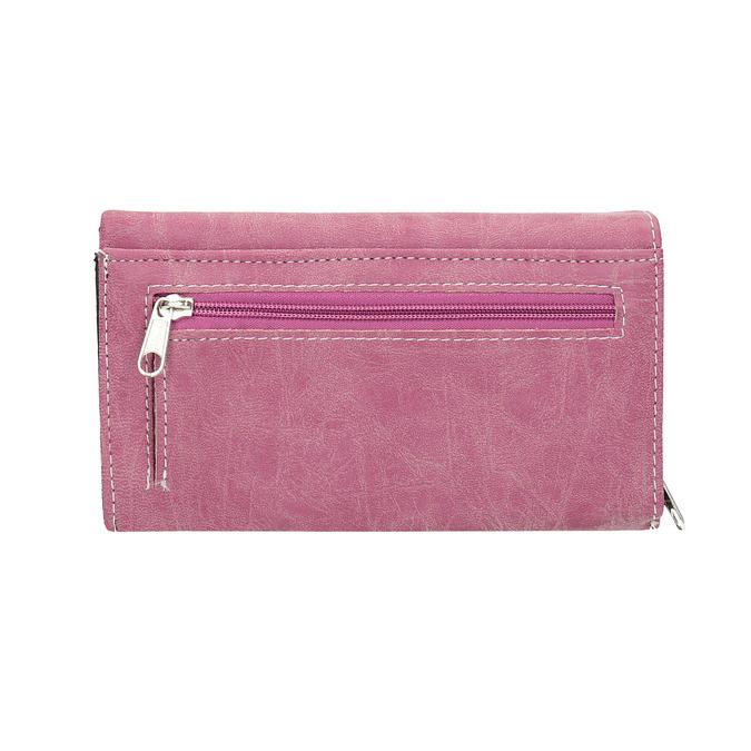 Štýlová dámska peňaženka bata, ružová, 941-5153 - 19