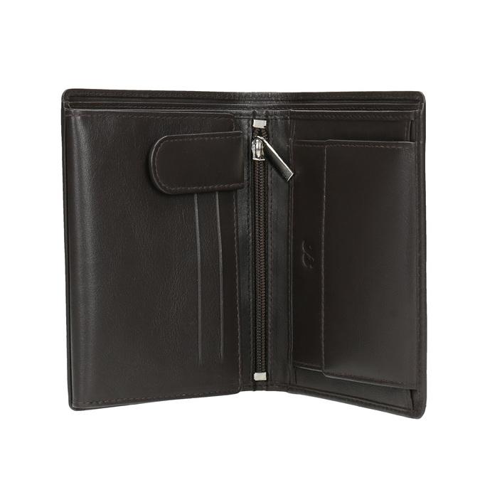 Pánska kožená peňaženka bata, hnedá, 944-4169 - 15