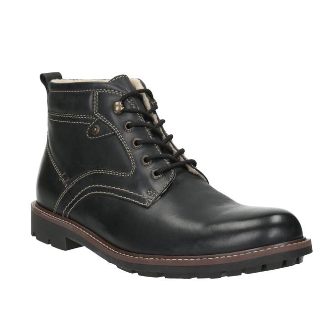Kožená zimná obuv bata, čierna, 894-6642 - 13