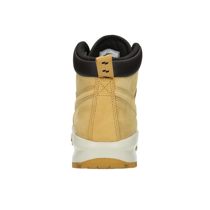 Kožená pánska členková obuv nike, hnedá, 806-8435 - 17