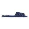 Dámska domáca obuv s mašličkou bata, modrá, 579-9609 - 15