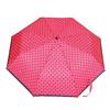 Skladací dáždnik s bodkami bata, ružová, 909-5601 - 26