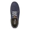 Ležérne kožené poltopánky weinbrenner, modrá, 846-9631 - 17