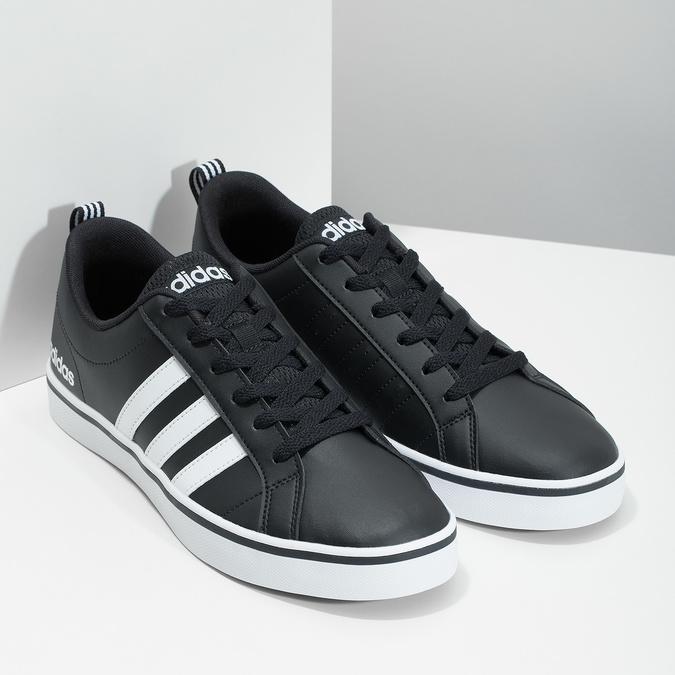 Ležérne pánske tenisky adidas, čierna, 801-6136 - 26