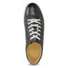 Pánske kožené tenisky bata, čierna, 846-6617 - 17