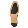 Hnedé kožené poltopánky v Derby strihu bata, hnedá, 826-3812 - 19