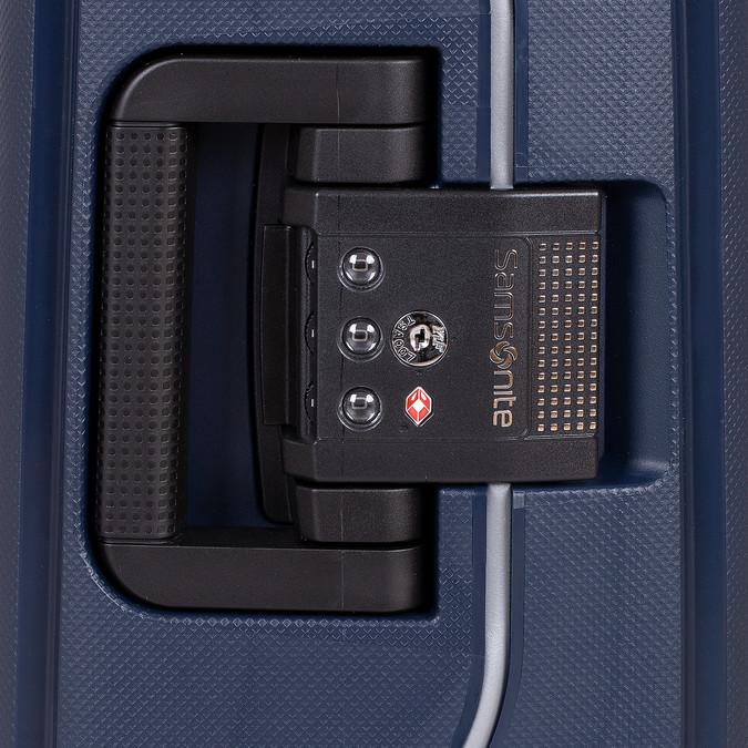 Kvalitný škrupinový kufor samsonite, modrá, 960-9321 - 15