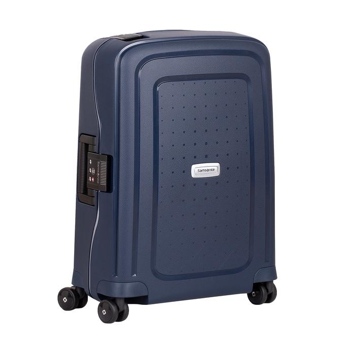 Kvalitný škrupinový kufor samsonite, modrá, 960-9321 - 13