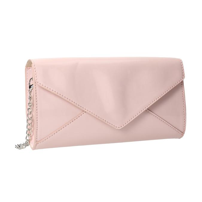 Ružová listová kabelka bata, ružová, 961-5685 - 13