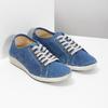 Ležérne kožené poltopánky weinbrenner, modrá, 546-9603 - 26