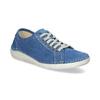 Ležérne kožené poltopánky weinbrenner, modrá, 546-9603 - 13