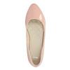 Lakované dámske baleríny bata, ružová, 521-5602 - 19
