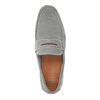Pánske mokasíny z brúsenej kože bata, šedá, 853-2614 - 19