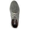 Ležérne šedé kožené poltopánky weinbrenner, šedá, 843-2629 - 19