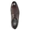 Pánske kožené poltopánky bata, hnedá, 826-4648 - 15