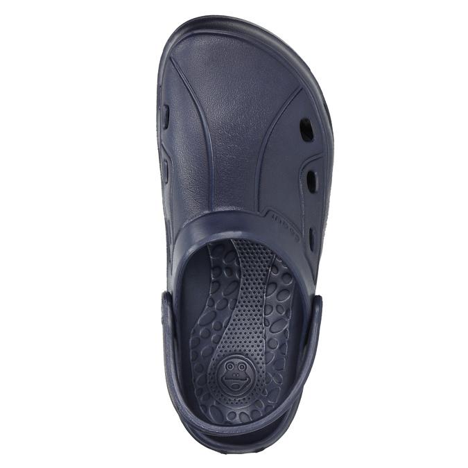 Modré detské sandále coqui, modrá, 472-9610 - 26