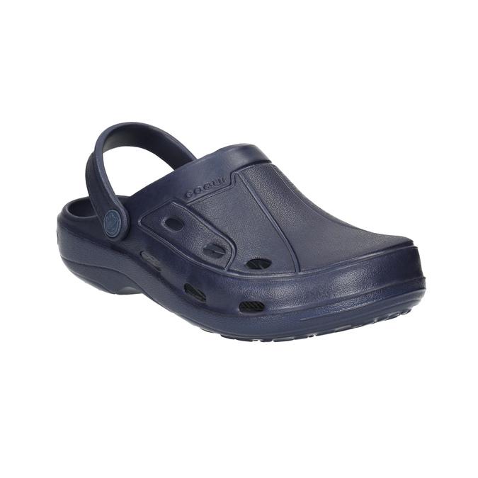 Modré detské sandále coqui, modrá, 472-9610 - 13