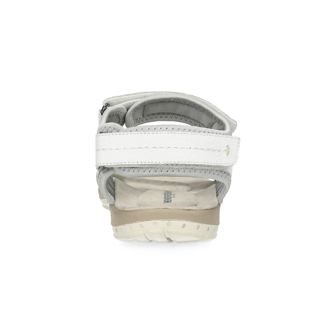 Kožené dámske sandále v Outdoor štýle weinbrenner, biela, 566-1608 - 15