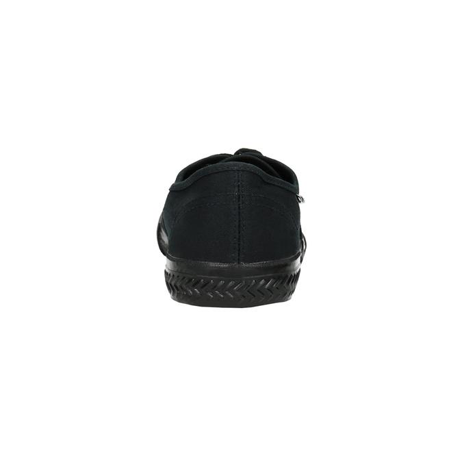 Čierne pánske tenisky tomy-takkies, čierna, 889-6227 - 17