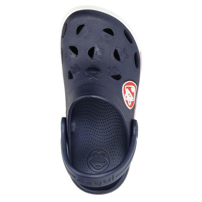 Modré detské sandále coqui, modrá, 272-9603 - 26