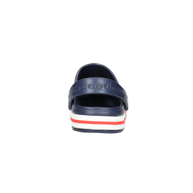 Modré detské sandále coqui, modrá, 272-9603 - 17