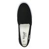 Čierne dámske Slip-on tomy-takkies, čierna, 589-6170 - 19