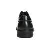 Kožené pánske poltopánky s prešitím pinosos, čierna, 824-6542 - 17