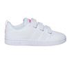 Dievčenské tenisky na suchý zips adidas, biela, 301-1268 - 15