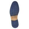 Kožená členková obuv so zipsom bata, hnedá, 826-3911 - 19