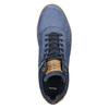 Kožené členkové tenisky bata, modrá, 846-9641 - 26