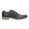 Neformálne kožené poltopánky bata, modrá, 826-9910 - 15