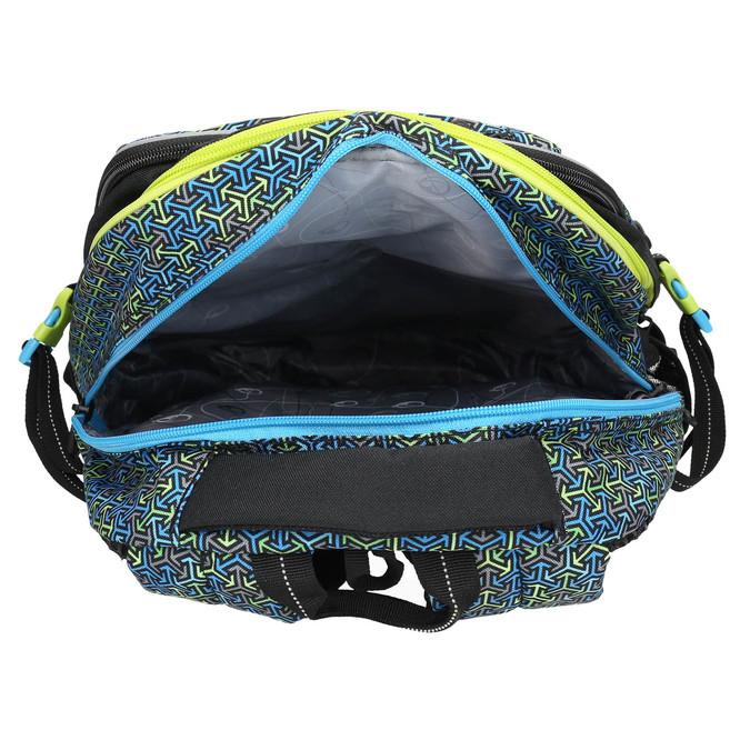 Školský batoh bagmaster, modrá, 969-7648 - 15