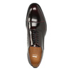 Kožené vínové Oxford poltopánky bata, červená, 826-5671 - 15